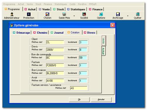 Captures cran du logiciel de gestion commerciale for Photo ecran logiciel